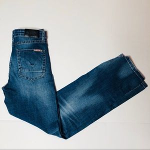 Hudson Jeans 27x28 or girls 14 straight leg